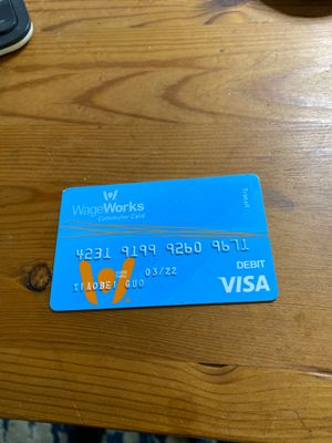Commute debit card, $595 in balance. for Sale in Ithaca, NY