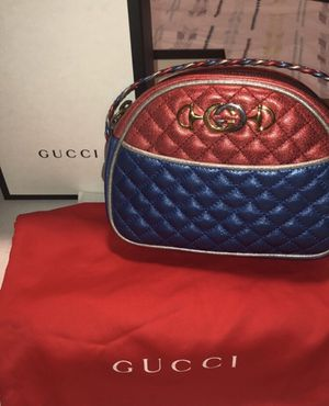 GUCCI laminated leather mini bag BLUE for Sale in San Francisco, CA