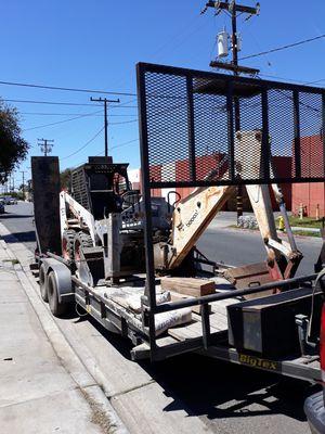 Bobcat, trailer, and backhole $18,000 o.b.o for Sale in Gardena, CA