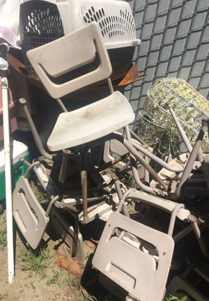 School kids chairs need some cleaning 9 chairs for Sale in Fresno, CA