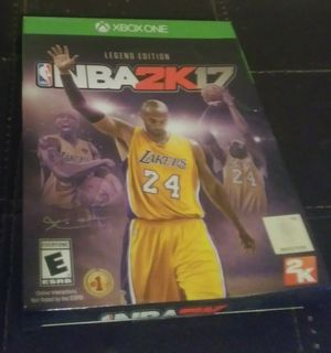 Nba 2k17 legends edition for Sale in Starkville, MS