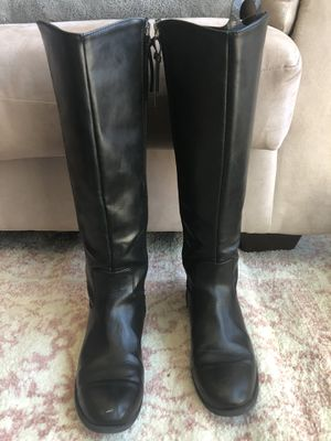 Tall Black Vegan Leather Boots for Sale in Plano, TX