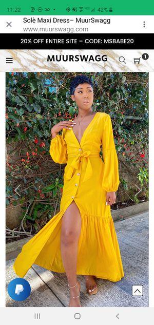 Yellow Summer Dress for Sale in Marietta, GA
