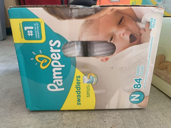 Pampers SWADDLERS, NEWBORN, 84ct
