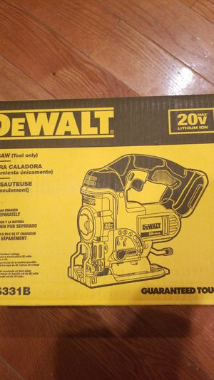 DeWalt jig saw. Tool only. BRAND NEW. for Sale in Baltimore, MD
