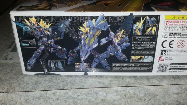 """Gundam """"UNICORN GUNDAM 02 BANSHEE NORN.."""" New NICE!"""