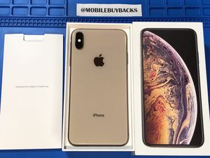 Apple iPhone XS Max 256GB Unlocked for ANY carrier (Gold) for Sale in Fresno, CA