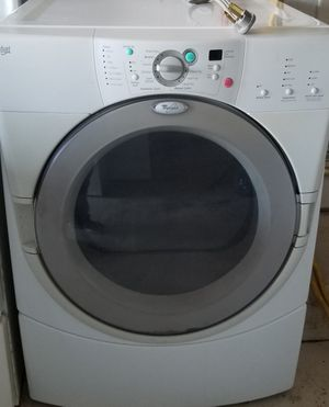 whirlpool duet front load electric dryer heavy duty super capacity works great clean in n out for Sale in Lathrop, CA