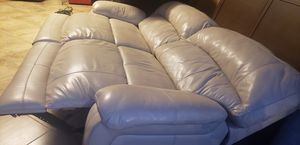 Power reclining leather sofa for Sale in Hudson, FL