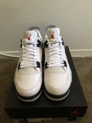 Jordan Retro 4 White Cement for Sale in Pico Rivera, CA