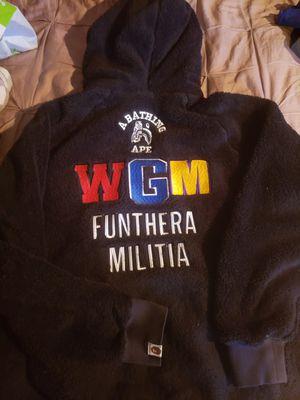 BAPE WCM Fur Hoody for Sale in Everett, WA