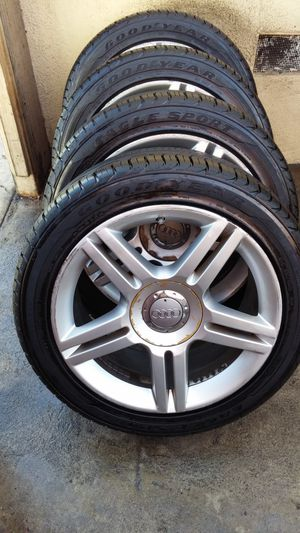 FIVE- 5 GOOD YEAR EAGLE RADIAL SPORT. EXCELLENT BRAND NEWS. for Sale in Los Angeles, CA