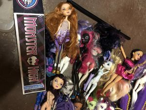 Monster High - various dolls and other items for Sale, used for sale  Tenafly, NJ