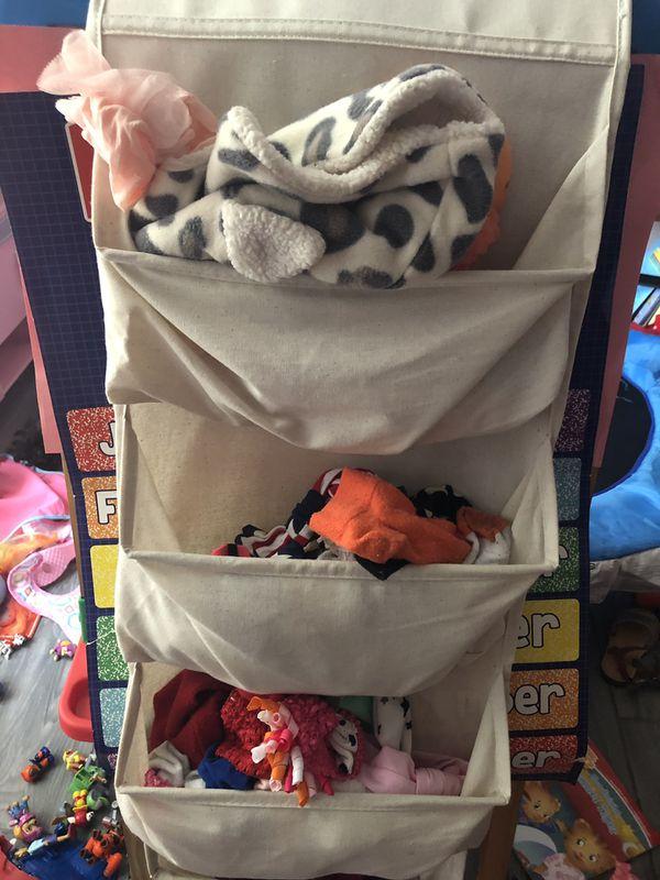 3pc closet organizer