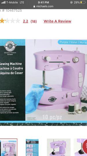 Mini Sew Machine for Sale in Harrisburg, PA