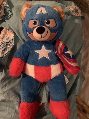 Captain America build a Bear plush for Sale in Glendale, AZ