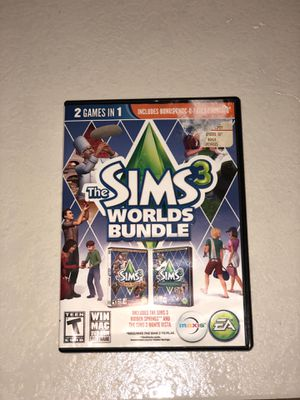 Sims 3 world bundle for Sale in Ocala, FL