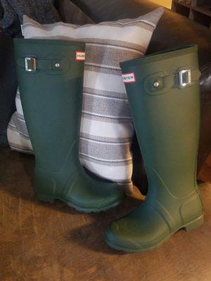 New Matte Green Hunter Boots 16 in tall for Sale in Spokane, WA