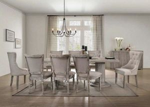 7 PCS Gabrian Dining Table set $1,279.00. In stock! Limited time offer! Free delivery 🚚 for Sale in Ontario, CA
