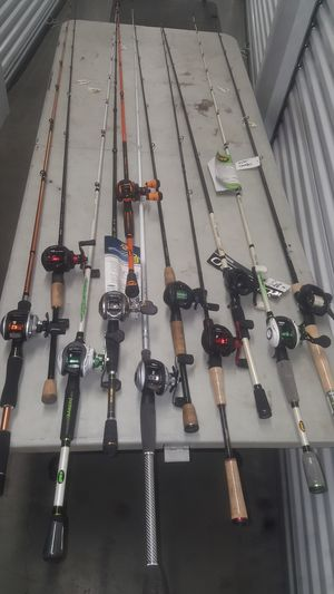 New bait casting fishing combos for Sale in Anaheim, CA