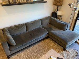 Crate and Barrel sectional couch for Sale in Portland, OR