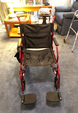 Wheelchair for travel for Sale in Pembroke Pines, FL