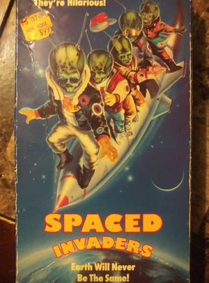 Space invaders vhs tape for Sale in Centreville, IL