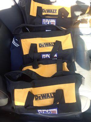New Dewalt bag 3 bas for drill for Sale in Caldwell, NJ