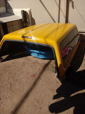 Yellow camper from a dodge ram for Sale in Las Vegas, NV