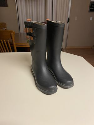Top Solid Rain Boots Size 5 for Sale in Redmond, WA