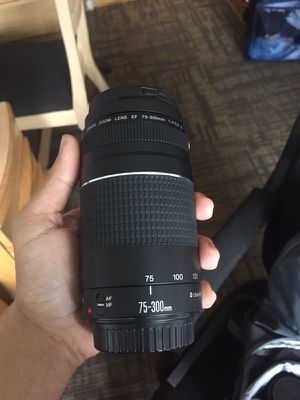 Canon T5, Backpack, and 2 Lenses for Sale in San Francisco, CA