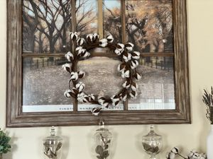 Cotton wreath for Sale in Columbia, SC