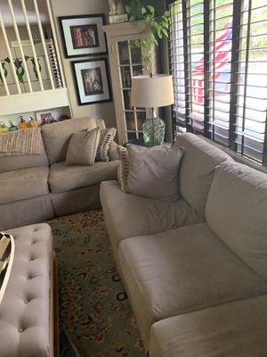2 Sofas sage green for Sale in Pensacola, FL