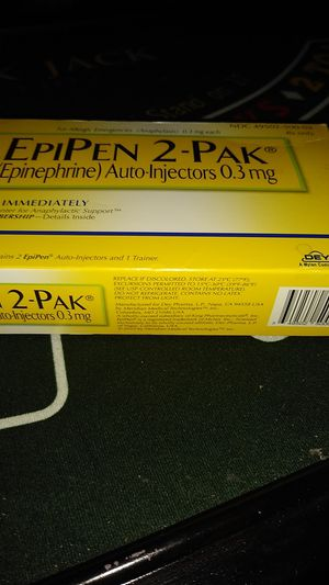 Have two pak EpiPen just asking 15 for it for Sale in Trenton, NJ