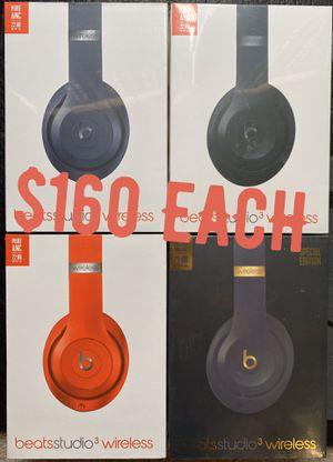 Beats studio 3 wireless headphones new for Sale in Plano, TX