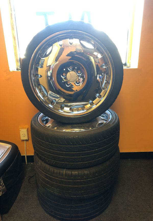 "245 / 35ZR20 20"" Chrome Rims and Tires"