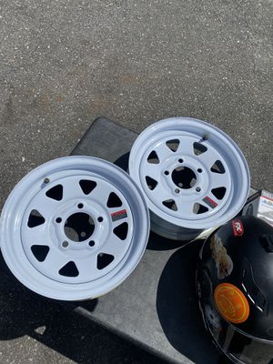 Utility trailer rims for Sale in Queens, NY