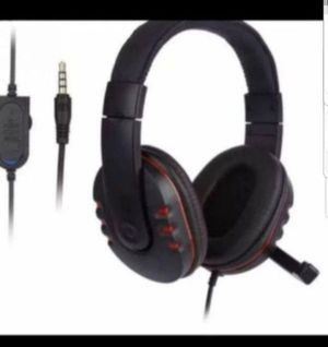 Gaming Headset Mic Stereo Surround Headphone 3.5mm Wired For PS4 Xbox PC Xbox one for Sale in Las Vegas, NV