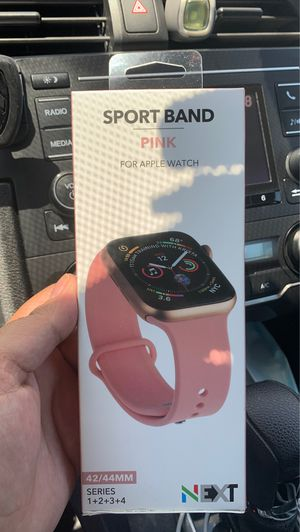 Apple Watch pink sports band NEW IN BOX for Sale in Fresno, CA
