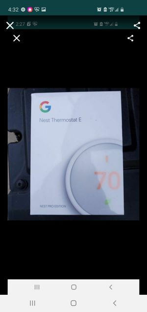 Nest pro thermostat a/c for Sale in City of Industry, CA