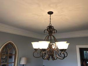 6-Light Oil Rubbed Bronze Chandelier for Sale in Franklin, TN