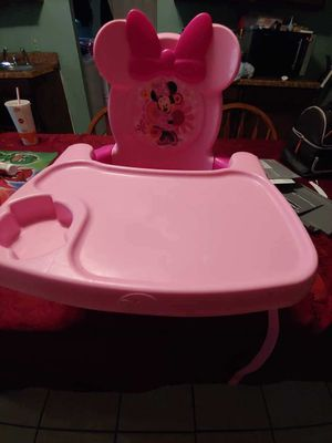 Minnie Mouse booster seat for Sale in Fort Worth, TX