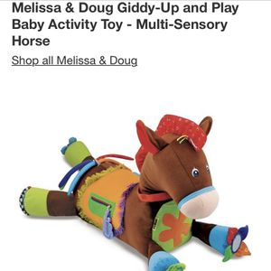 Toy plush horse with activities for Infants / Toddlers for Sale in Miami, FL