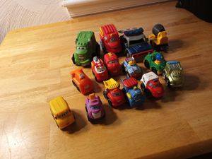 Little people and Tonka vehicles plastic for Sale in Portsmouth, VA