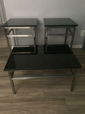 Coffee table set-Granite top for Sale in San Diego, CA