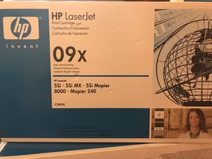 HP LaserJet Print Cartridge 09 X 5 Si / 5 Si MX / 5Si Mopier 8000 / Mopier 240 New with seal ( 3 of them ) for Sale in Federal Way, WA