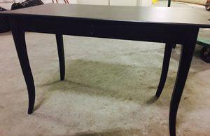 Dark wood desk for Sale in Alexandria, VA
