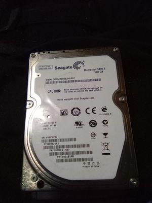"Seagate Momentus 5400.6 ST9500325AS 500GB 5400 RPM 8MB Cache SATA 3.0Gb/s 2.5"" Internal Notebook Hard Drive Bare Drive for Sale in Rochester, WA"