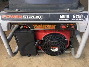 Power Stroke 5000 Generator for Sale in San Antonio, TX