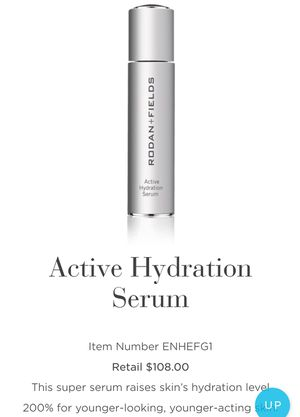 Rodan and Fields Active Hydration Serum for Sale in Oakland, FL